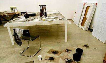 Artists' studios: Antony Gormley
