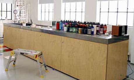 Artists' studios: Michael Craig-Martin