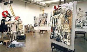 Artists studios: Paula Rego