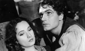 Laurence Oliver as Heathcliff and Merle Oberon as Cathy in Wuthering Heights (1939). Photograph: Cine Text/Allstar