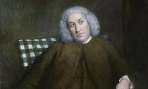 Samuel Johnson by Joshua Reynolds 1756-57 in National Portrait Gallery