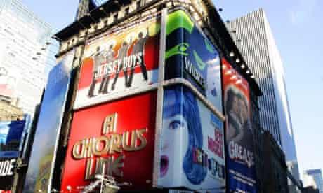 A Street On Broadway