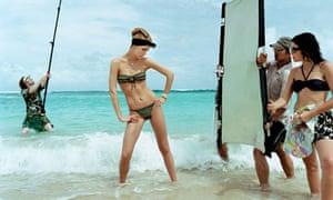 Jonathan de Villiers' shoot for the Swimsuit issue of L'Officiel 2003