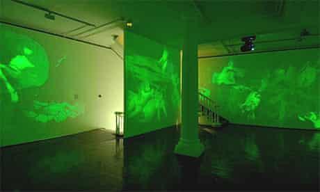 Mat Collishaw, Shooting Stars, installation view, at Haunch of Venison, London
