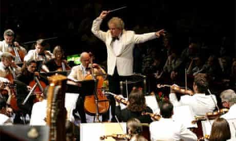 Proms 2008, BBC Symphony Orchestra. Photograph: Yui Mok/PA
