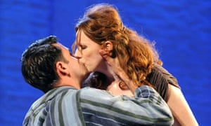 Dominic Rowan (Graham) and Catherine Tate (Michelle) in Under The Blue Sky