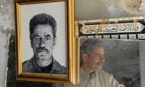 Portraits of Hebron stallholders by Caspar Hall