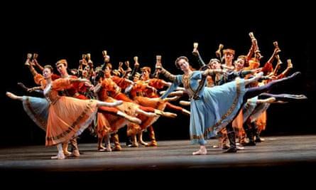 Swan Lake by National Ballet of China, Royal Opera House
