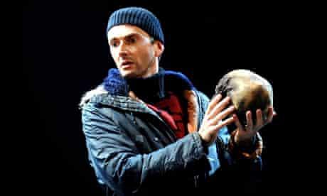 David Tennant as Hamlet at the RSC