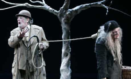 Terence Rigby in Waiting for Godot, Bath 2005