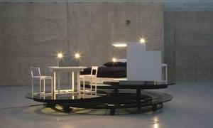 Carsten Holler's Revolving Hotel Room, Guggenheim New York