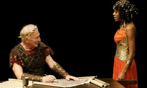 Christopher Plummer and Nikki M James in Caesar and Cleopatra, Stratford Shakespeare festival