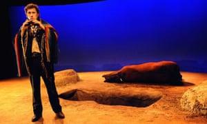 Stephen Rea (Hobart Struther) in Kicking a Dead Horse, Almeida, London