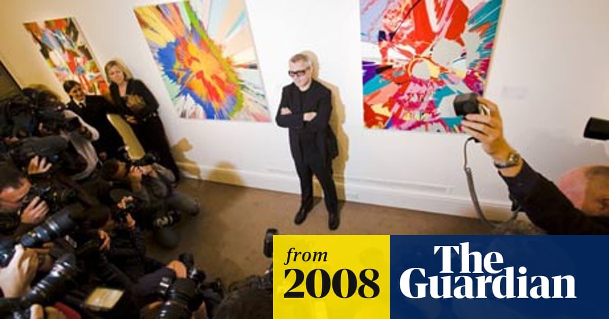 111m Damien Hirst Total Sets Record For One Artist Auction Art And Design The Guardian