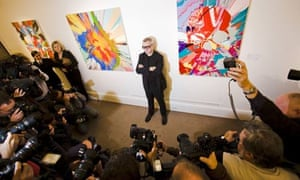 111m Damien Hirst total sets record for one-artist auction   Art and ... 2ba6b5b5db2