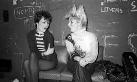 Siouxsie Sioux and Jordan at Eric's in Liverpool in 1978