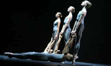 A scene from After the Rain by Christopher Wheeldon, performed by Morphoses