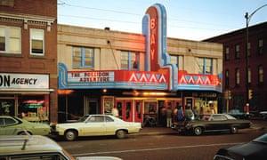 Stephen Shore's Bay Movie House, Ashland, WI