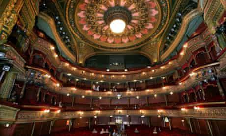 Auditorium of the Grand theatre, Leeds