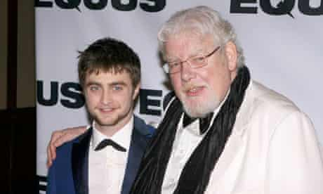 Daniel Radcliffe and Richard Griffiths