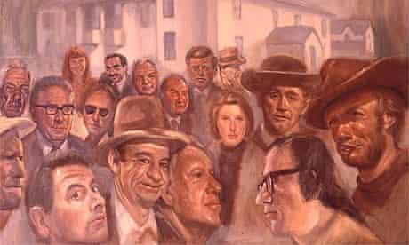 John Allinson's portrait of the Ronson family