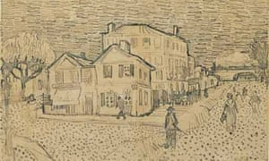 Lost Drawing In Van Gogh Auction Uk News The Guardian