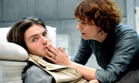 Tom Burke and Anna Chancellor in Creditors at the Donmar