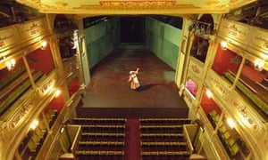 An empty Bristol Old Vic