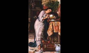 Isabella and the Pot of Basil by William Holman Hunt