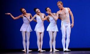 Apollo performed by the Mariinsky (Kirov) Ballet, Sadler's Wells, London