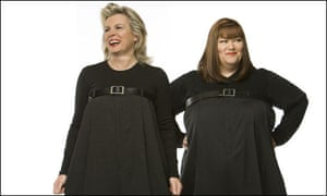 French and Saunders in publicity material for their Drury Lane show, 2008