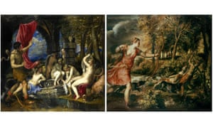 Second part of £95m Titian pair bought for Britain | Art ...  |Diana And Actaeon Titian