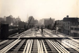 The High Line overhead railway in New York. Photograph: George A Fuller. Courtesy of archiveofindustry.com