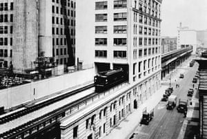 The High Line overhead railway in New York