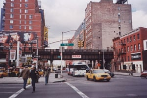 The High Line overhead railway in New York in 2003. Photograph: Paul Owen