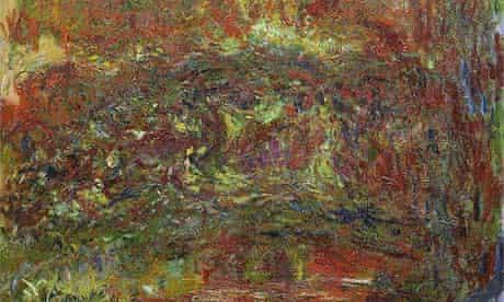 1000 artworks: Monet's The Japanese Bridge (1918-24)