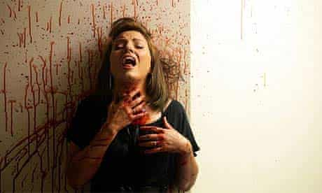 Davina McCall in Ch4's Dead Set