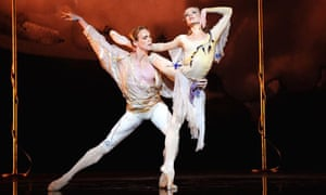 Melissa Hamilton and Edward Watson in L'Invitation Au Voyage from the Triple Bill by The Royal Ballet