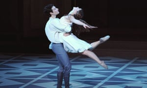 David Leventhal (Romeo) and Rita Donahue (Juliet) in Romeo and Juliet by Mark Morris Dance Group @ Barbican Theatre