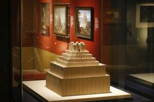 Scale Model Of The Ziggurat Etemenanki Babylon Myth And Reality Exhibition At British