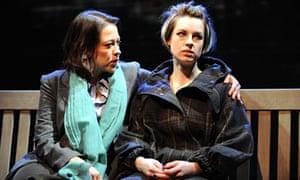 Nicola Walker and Jessica Raine in Gethsemane, Cottesloe theatre, London