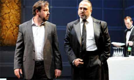 Daniel Ryan and Stanley Townsend in Gethsemane at Cottesloe Theatre