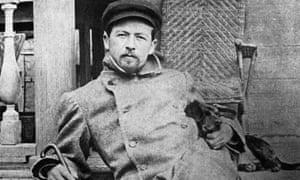 Anton Chekhov in Melikhovo, 1897