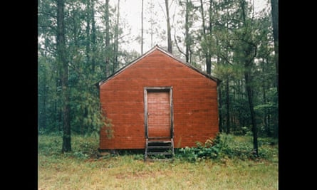 William Christenberry: Red Building in Forest, Hale County, Alabama, 1983