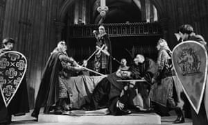 TS Eliot's Murder in the Cathedral, performed in 1970 in Canterbury Cathedral