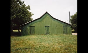 William Christenberry: Green Warehouse, Newbern, Alabama, 1978
