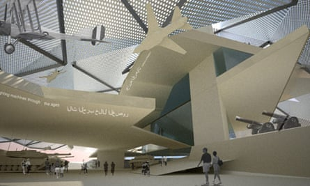Designs for Libya's Museum of Conflict by London-based architecture practice Metropolitan Workshop