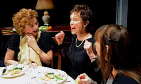 A scene from August: Osage County, Lyttelton theatre, London