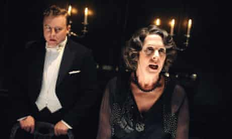 Samuel West (Harry) and Penelope Wilton (Agatha) in The Family Reunion, Donmar, London