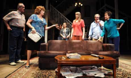 A scene from Tracy Letts's August: Osage County